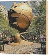 The Sphere Wood Print