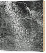 The Splash Wood Print