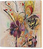 The Splash Of Life Series No 2 Wood Print