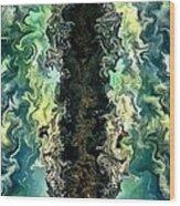 The Split By Rafi Talby Wood Print