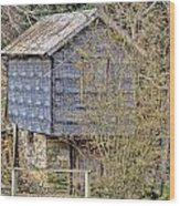 The Spring House Wood Print