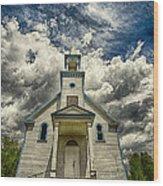 The Squaw Bay Church Wood Print by Jakub Sisak
