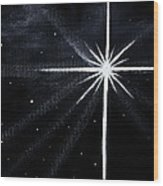 The Star Wood Print by Judy M Watts-Rohanna