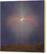 The Star Of Bethlehem Wood Print