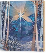 The Star Wood Print