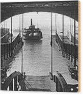 The Staten Island Ferry Wood Print