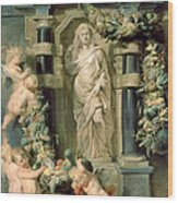 The Statue Of Ceres Wood Print