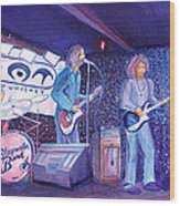 The Steepwater Band Wood Print