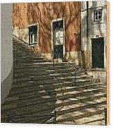 The Steps Wood Print
