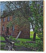 The Stone House Wood Print