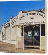 The Stone Pony Asbury Park New Jersey Wood Print