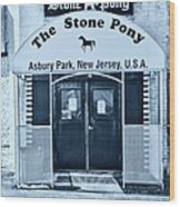 The Stone Pony Cool Wood Print
