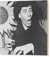 The Stooge, Jerry Lewis, 1952 Wood Print