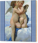 The Story Of Cupid And Psyche Wood Print