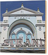The Strand Key West Wood Print