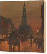 The Strand - London 1899 Wood Print
