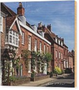 The Streets Of Winchester England Wood Print