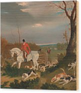 The Suffolk Hunt Wood Print