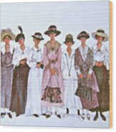 The Suffragettes Wood Print