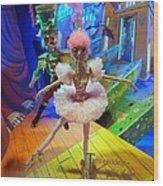 The Sugarplum Fairy Wood Print