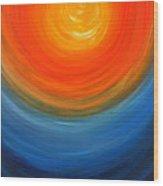 The Sun And The Sea Wood Print