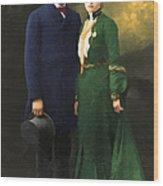 The Sundance Kid Harry Longabaugh And Etta Place 20130515 Wood Print