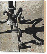 The Sundial Wood Print