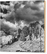 The Superstitions  Wood Print
