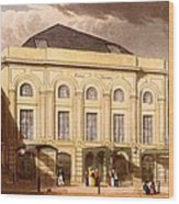 The Surrey Theatre, London, 1826 Wood Print