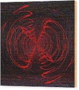 The Swarm Wood Print