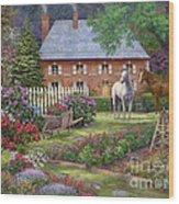 The Sweet Garden Wood Print
