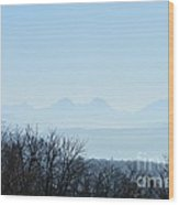 The Swiss Alps Panorama  2 Wood Print