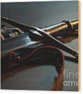 The Sword Of Aragorn 1 Wood Print by Micah May