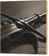 The Sword Of Aragorn 2 Wood Print