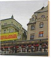 The Szegedi Halaszcsarda Wood Print