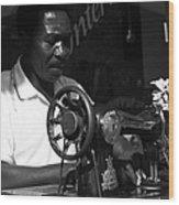 The Tailor - Tanzania Wood Print