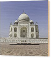 The Taj Mahal. Wood Print