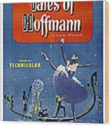 The Tales Of Hoffmann, Poster Art, 1951 Wood Print