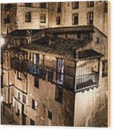 The Tall Houses Of Albarracin Wood Print