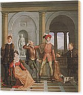The Taming Of The Shrew Wood Print