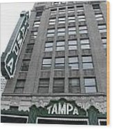 The Tampa Theatre Wood Print