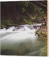 The Tananamawas River Wood Print
