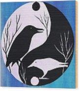 The Tao Of Crow Wood Print