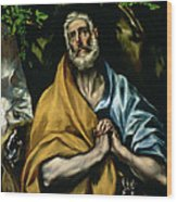 The Tears Of St Peter Wood Print