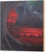 The  Tempest Wood Print