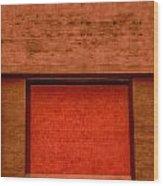 The Temple Door Wood Print