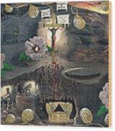 The Testimony Of Ron Wyatt - Ark Of The Covenant Wood Print