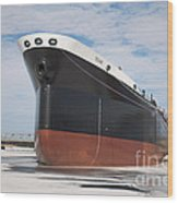 The Texas Cargo Ship Wood Print