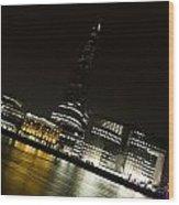 The Thames Downhill Wood Print