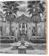 The Thomas Center Gardens Wood Print